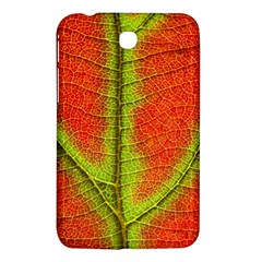 Nature Leaves Samsung Galaxy Tab 3 (7 ) P3200 Hardshell Case  by BangZart
