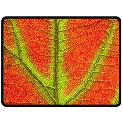 Nature Leaves Double Sided Fleece Blanket (large)  by BangZart