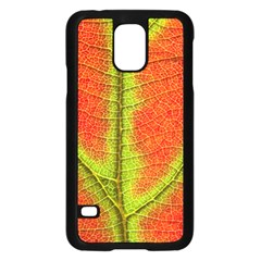 Nature Leaves Samsung Galaxy S5 Case (black) by BangZart