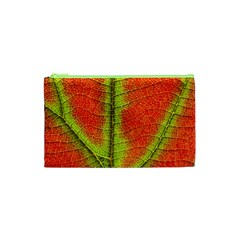 Nature Leaves Cosmetic Bag (xs) by BangZart