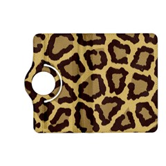 Leopard Kindle Fire Hd (2013) Flip 360 Case by BangZart