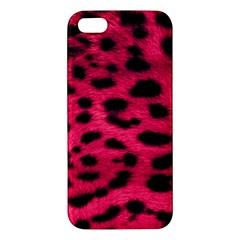 Leopard Skin Iphone 5s/ Se Premium Hardshell Case by BangZart