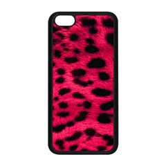 Leopard Skin Apple Iphone 5c Seamless Case (black) by BangZart