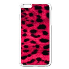 Leopard Skin Apple Iphone 6 Plus/6s Plus Enamel White Case by BangZart