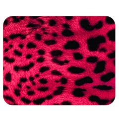 Leopard Skin Double Sided Flano Blanket (medium)  by BangZart