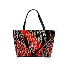 Leaf Pattern Shoulder Handbags by BangZart