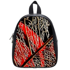 Leaf Pattern School Bags (small)  by BangZart