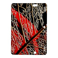 Leaf Pattern Kindle Fire Hdx 8 9  Hardshell Case by BangZart