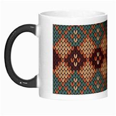 Knitted Pattern Morph Mugs by BangZart