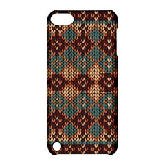 Knitted Pattern Apple Ipod Touch 5 Hardshell Case With Stand