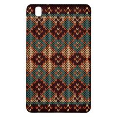Knitted Pattern Samsung Galaxy Tab Pro 8 4 Hardshell Case by BangZart