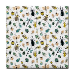 Insect Animal Pattern Tile Coasters by BangZart