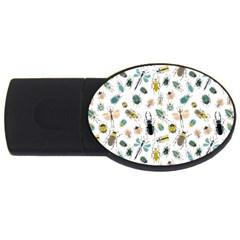 Insect Animal Pattern Usb Flash Drive Oval (4 Gb) by BangZart