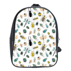 Insect Animal Pattern School Bags (xl)  by BangZart