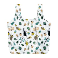 Insect Animal Pattern Full Print Recycle Bags (l)  by BangZart