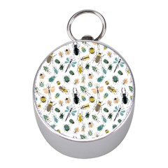 Insect Animal Pattern Mini Silver Compasses by BangZart