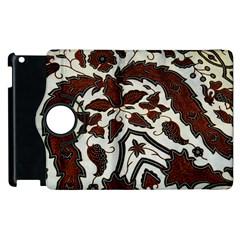 Javanese Batik Apple Ipad 3/4 Flip 360 Case by BangZart