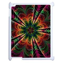 Kaleidoscope Patterns Colors Apple Ipad 2 Case (white) by BangZart