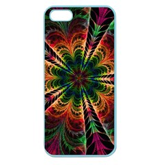 Kaleidoscope Patterns Colors Apple Seamless Iphone 5 Case (color) by BangZart
