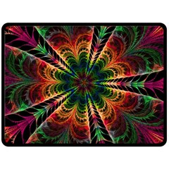 Kaleidoscope Patterns Colors Double Sided Fleece Blanket (large)  by BangZart