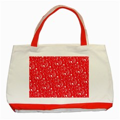 Heart Pattern Classic Tote Bag (red) by BangZart