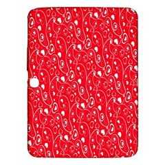 Heart Pattern Samsung Galaxy Tab 3 (10 1 ) P5200 Hardshell Case  by BangZart