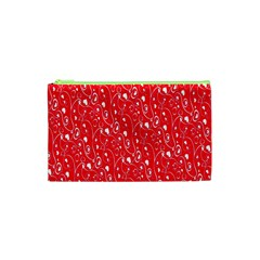 Heart Pattern Cosmetic Bag (xs) by BangZart