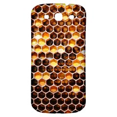 Honey Honeycomb Pattern Samsung Galaxy S3 S Iii Classic Hardshell Back Case by BangZart