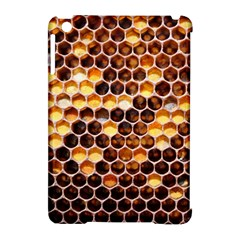Honey Honeycomb Pattern Apple Ipad Mini Hardshell Case (compatible With Smart Cover) by BangZart