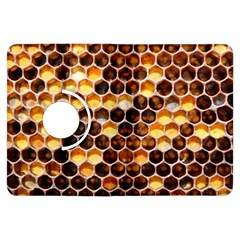 Honey Honeycomb Pattern Kindle Fire Hdx Flip 360 Case by BangZart