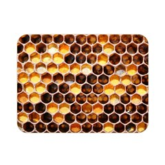 Honey Honeycomb Pattern Double Sided Flano Blanket (mini)  by BangZart