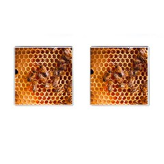 Honey Bees Cufflinks (square) by BangZart