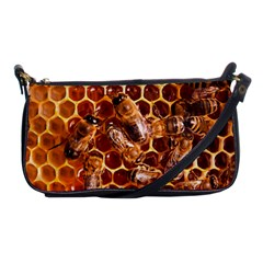 Honey Bees Shoulder Clutch Bags by BangZart