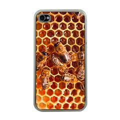 Honey Bees Apple Iphone 4 Case (clear) by BangZart
