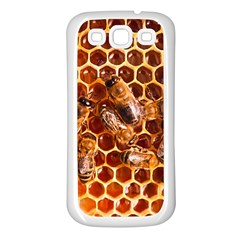 Honey Bees Samsung Galaxy S3 Back Case (white) by BangZart