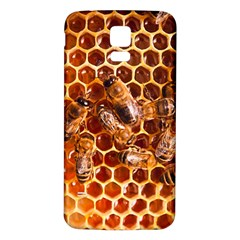 Honey Bees Samsung Galaxy S5 Back Case (white) by BangZart