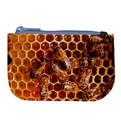 Honey Bees Large Coin Purse by BangZart