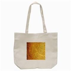 Gold Pattern Tote Bag (cream) by BangZart