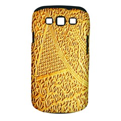Gold Pattern Samsung Galaxy S Iii Classic Hardshell Case (pc+silicone) by BangZart