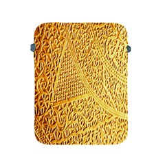 Gold Pattern Apple Ipad 2/3/4 Protective Soft Cases by BangZart