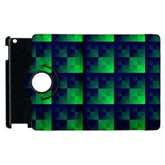 Fractal Apple Ipad 2 Flip 360 Case by BangZart