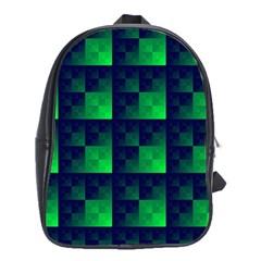Fractal School Bags (xl)  by BangZart