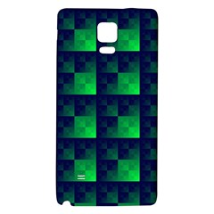 Fractal Galaxy Note 4 Back Case by BangZart