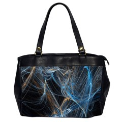 Fractal Tangled Minds Office Handbags (2 Sides)  by BangZart