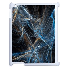 Fractal Tangled Minds Apple Ipad 2 Case (white) by BangZart