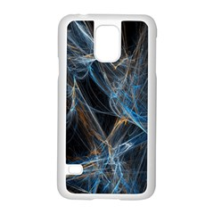 Fractal Tangled Minds Samsung Galaxy S5 Case (white) by BangZart