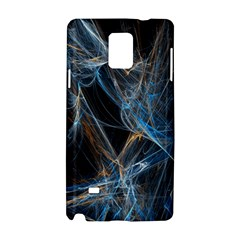 Fractal Tangled Minds Samsung Galaxy Note 4 Hardshell Case by BangZart