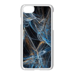 Fractal Tangled Minds Apple Iphone 7 Seamless Case (white) by BangZart