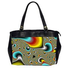 Fractals Random Bluray Office Handbags (2 Sides)  by BangZart