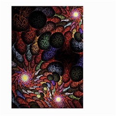Fractal Swirls Large Garden Flag (two Sides) by BangZart